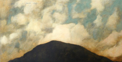 Coming up for air   |   Oil on Canvas   |   150 x 74 cm