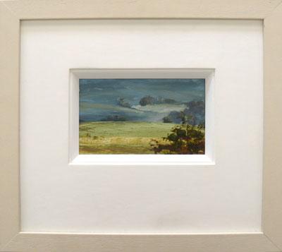 """Lidgetton Valley Road I""  Oil on Board   19 x 12 cm"