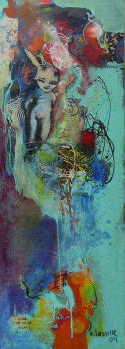 """Gentle""| Oil on Canvas | 170 x 170 cm"