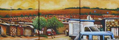 Triptych | Oil on Canvas | 20 x 20 cm x 3