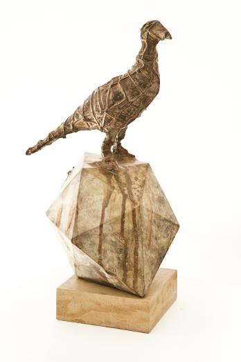 Olaf Bisschoff – Paintings & Sarel Petrus – Sculptures