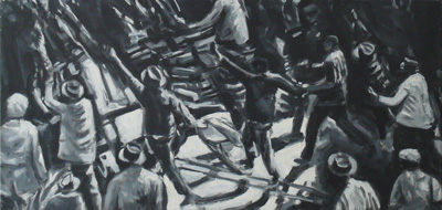 """Anti Pass Law Protest""